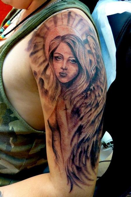 Tattoos - Guardian angel - 75619