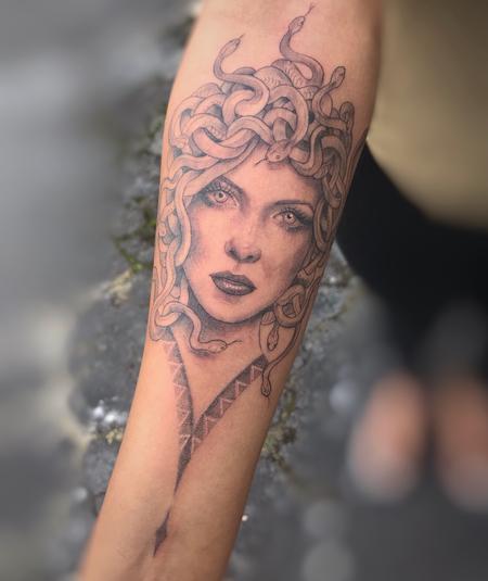 Tattoos - Medusa - 143044