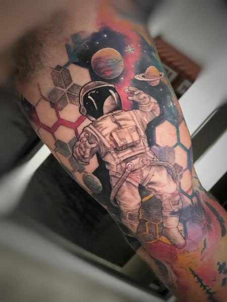 Tattoos - Astronaut in space - 143131