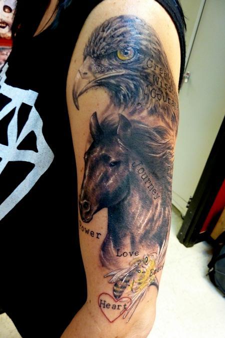 Tattoos - Motivational words - 79906