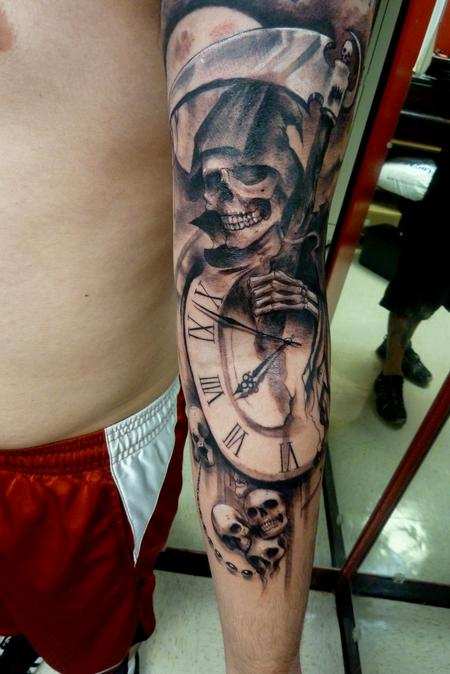 Grim Reaper Tattoo Design Thumbnail