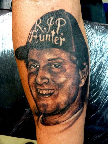 Tattoos - Black & grey Portait - 64831