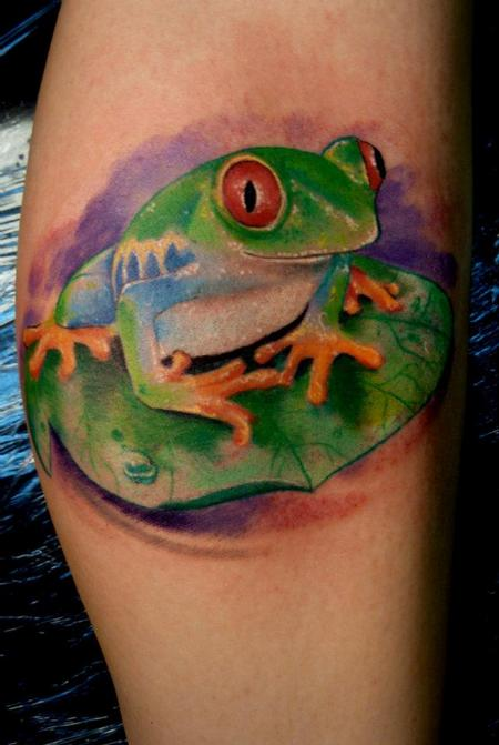 Mully - Realistic tree frog