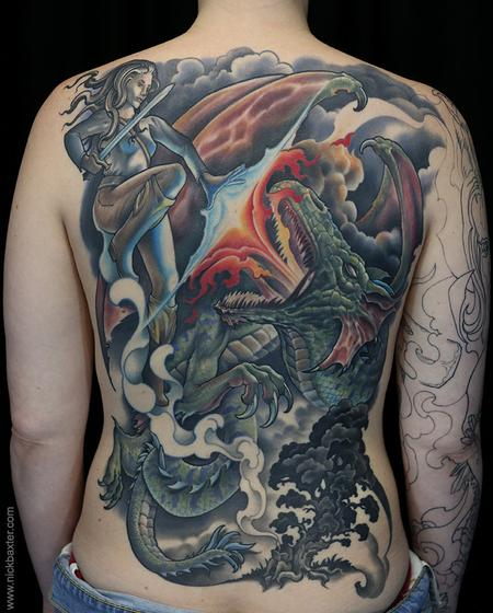 Tattoos - Slaying the Dragon - 137891