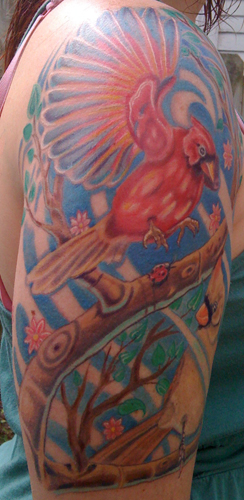 Tattoos - Cardinals - 32140