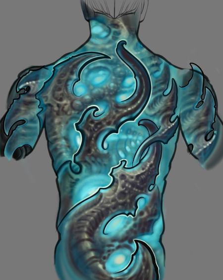 Tattoos - Biomech art - 141068