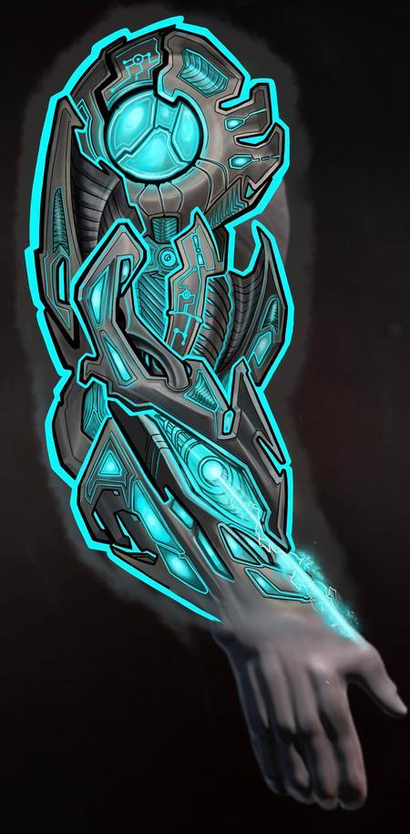 Tattoos - Cryogenic mech art - 141069