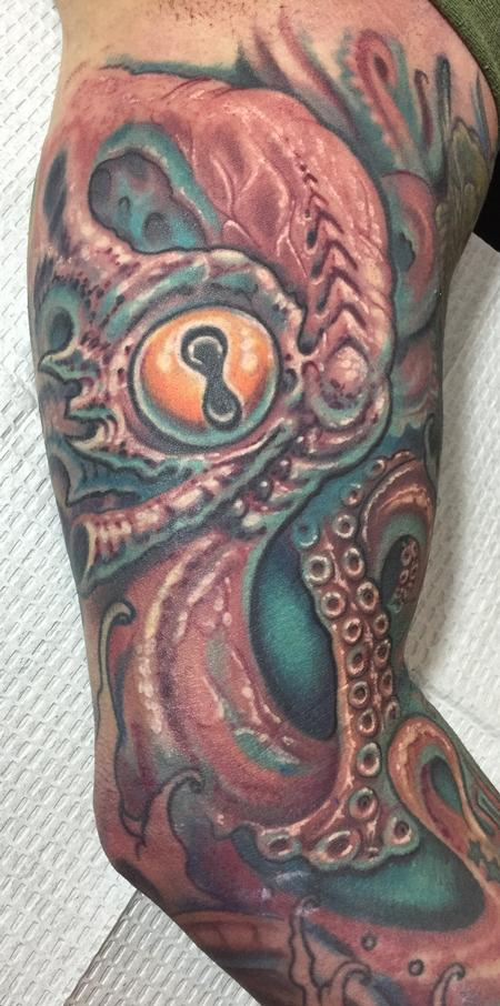 Phil Robertson - Octopus tattoo