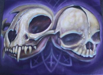 Tattoos - Skull morph. - 46333