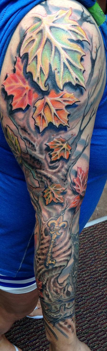 Tattoos - Autumn tree sleeve - 94719