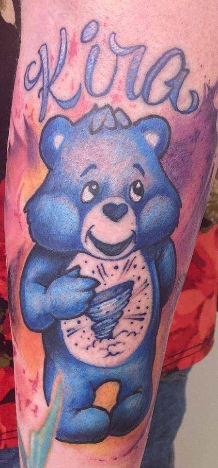 Care Bear Tattoo Design