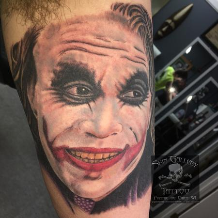 The Joker Tattoo Thumbnail