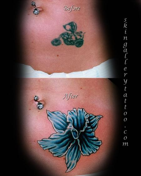 Brent Severson - Floral Cover up