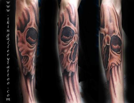 Brent Severson - Custom Color Skull