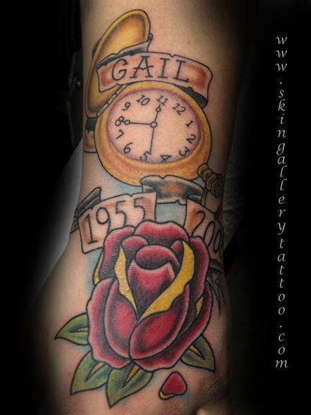 Tattoos - Neo-Traditional Memorial Mom - 79525
