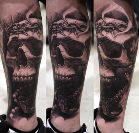 Tattoos - Skull - 95292