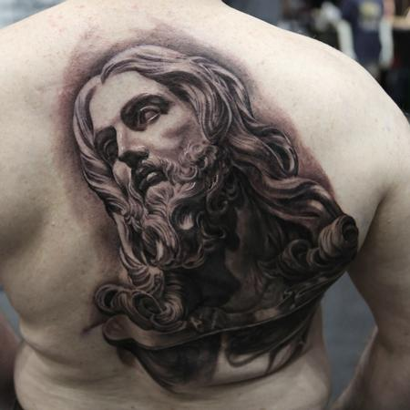 Tattoos - Bernini Jesus Sculpure - 102185