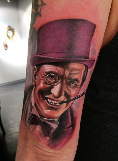 Tattoos - Classic Penguin Tattoo - 63822