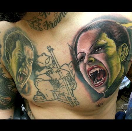 Tattoos - Vampire - 75275