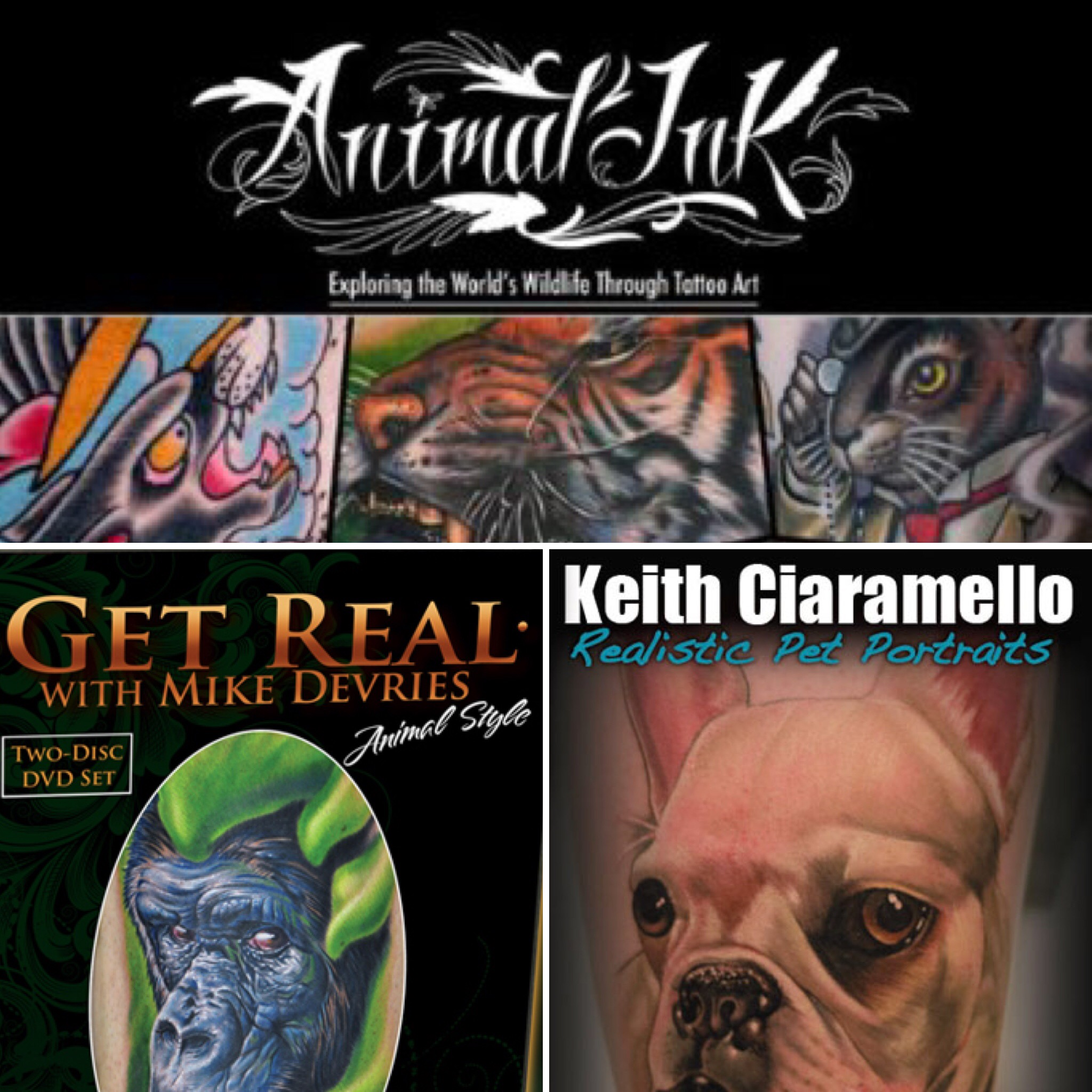 Animal Tattoo Super Combo!