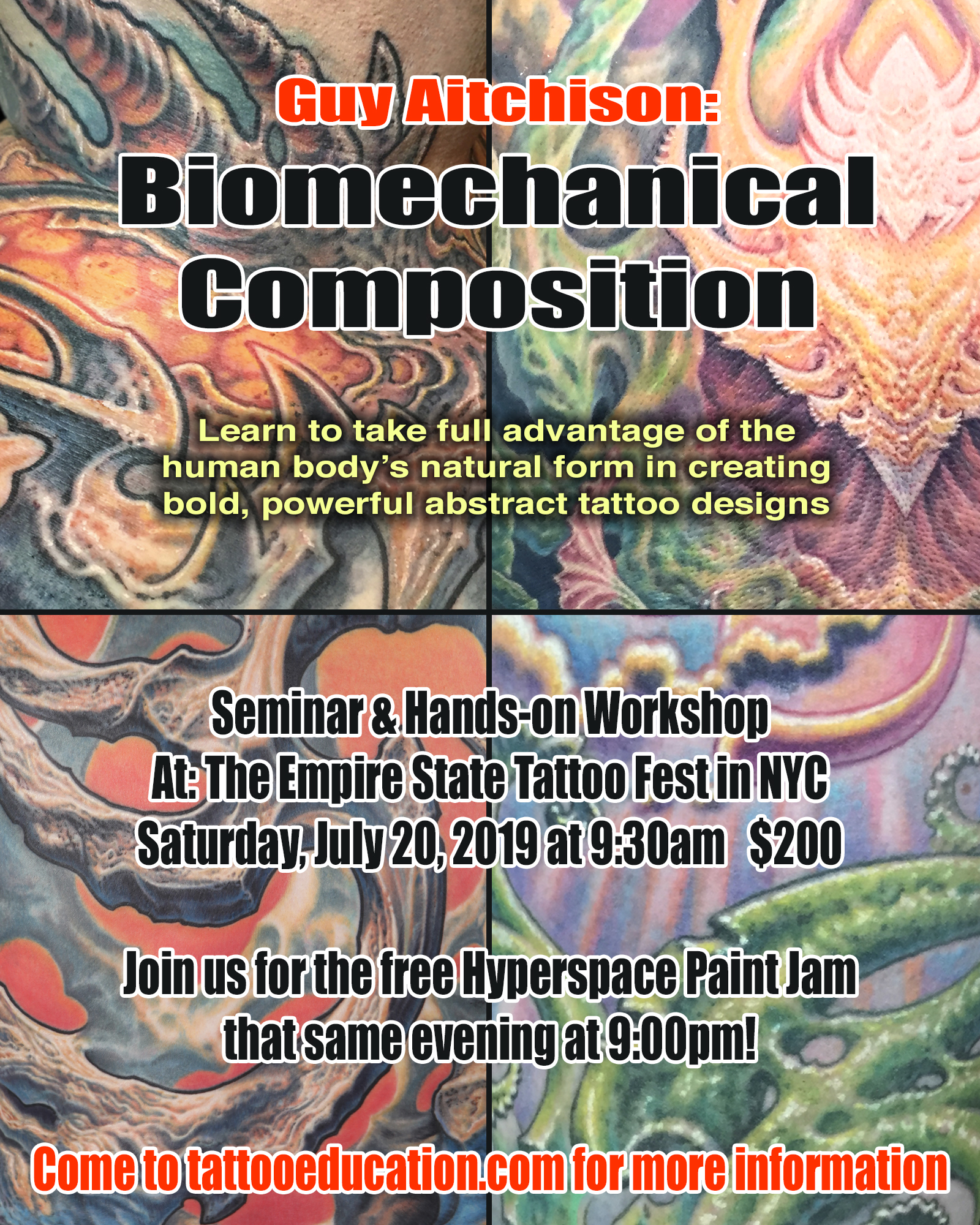 f26645d6bbe10 Empire State Tattoo Expo - Biomechanical Workshop!