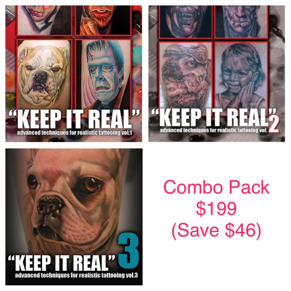 Keith Ciaramello's Keep It Real Volume 1,2&3 combo pack