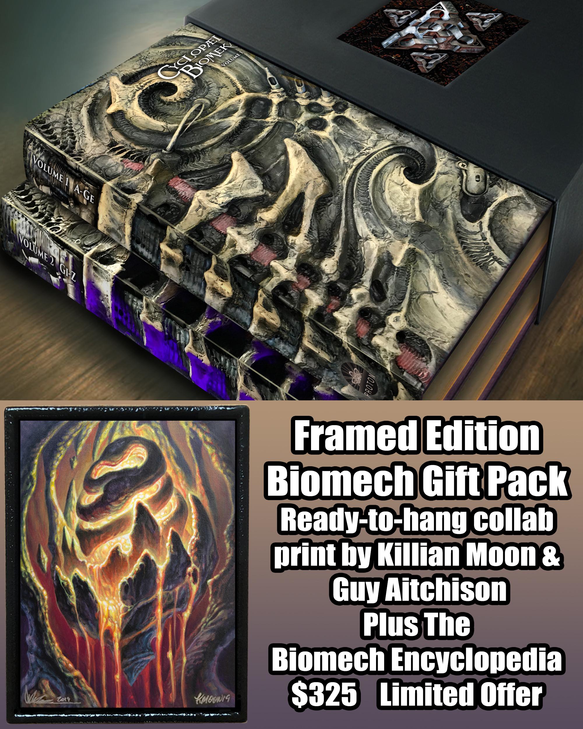 The Biomech Encyclopedia/Framed Print