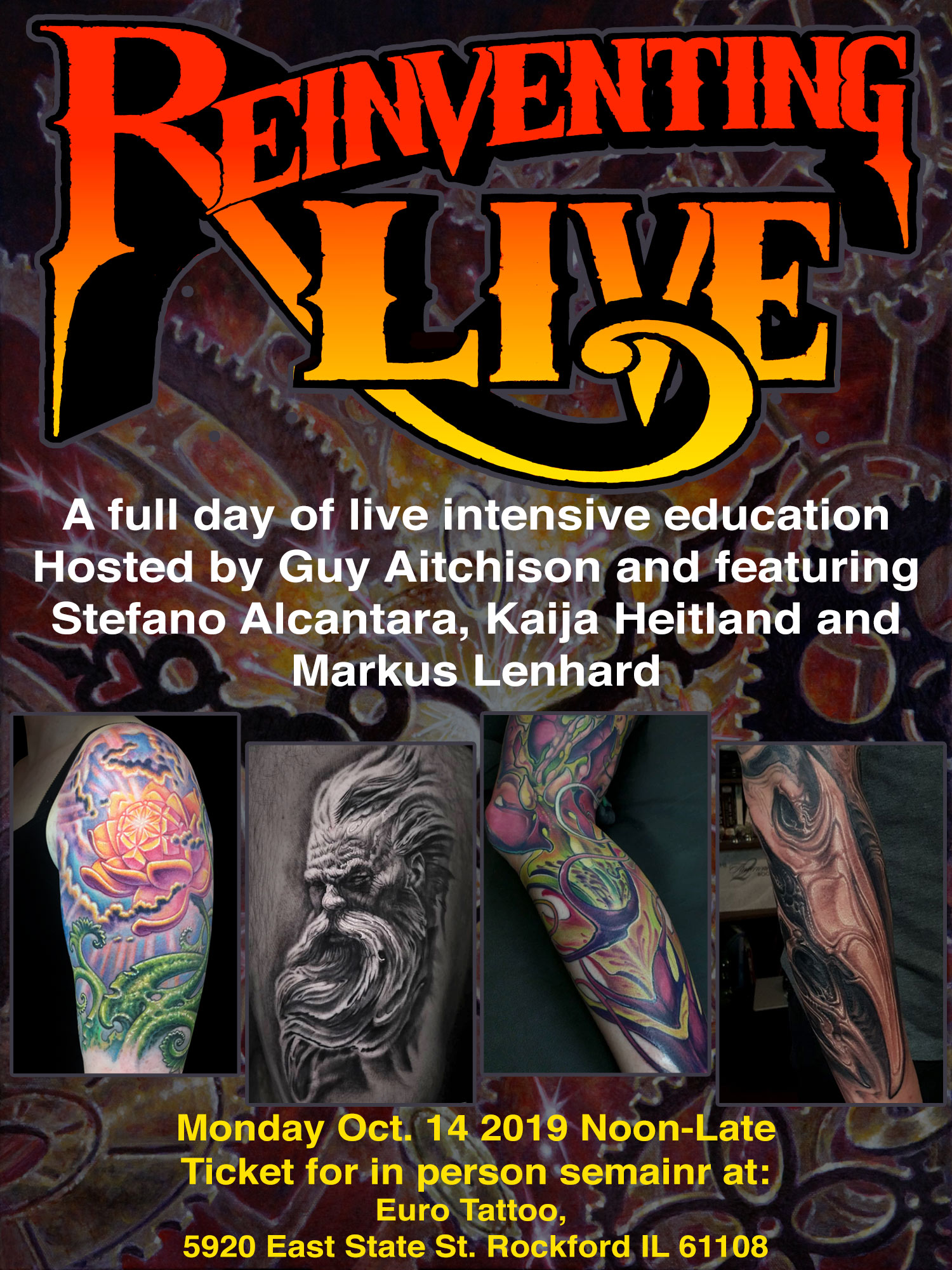 Reinventing Live - In Person