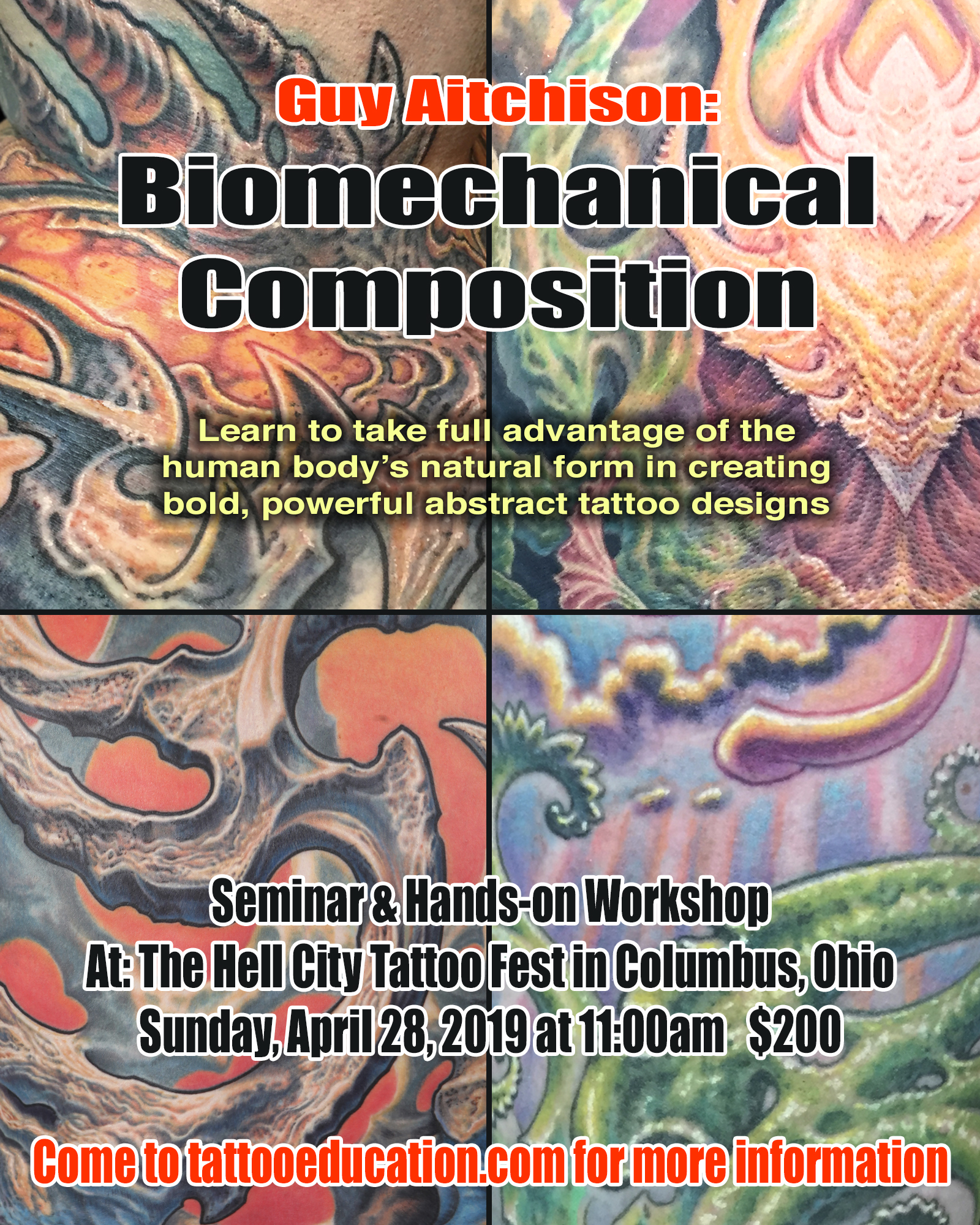 Hell City - Biomechanical Composition Workshop