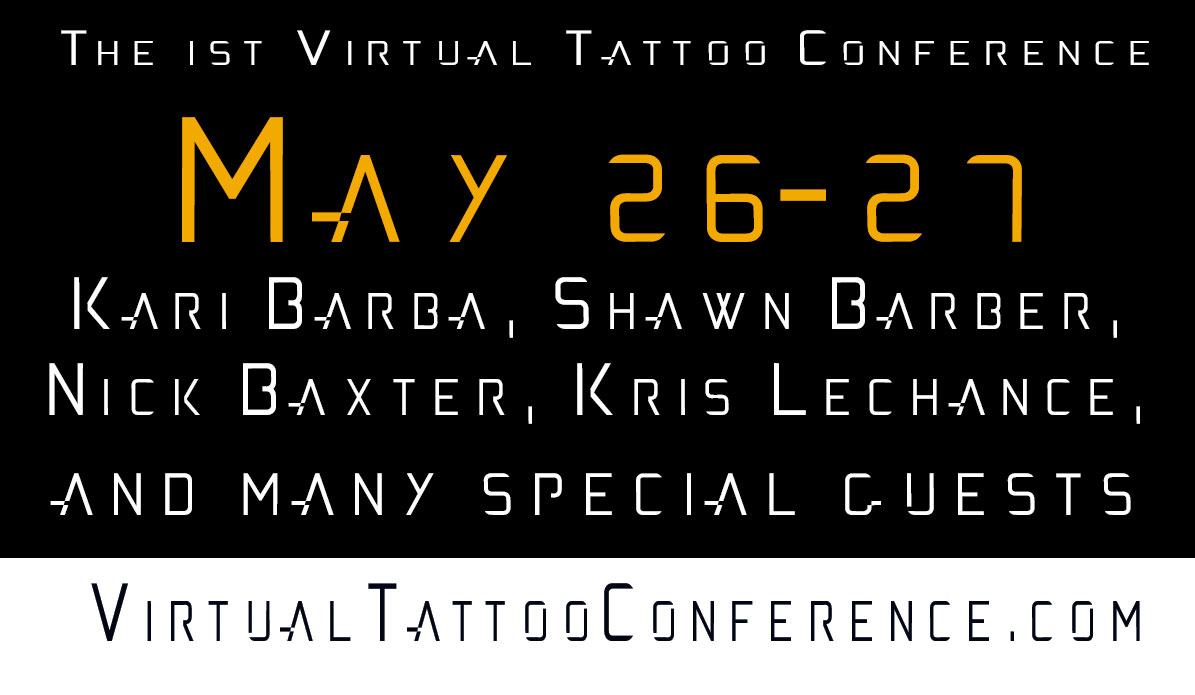 Virtual Tattoo Conference Sponsorship