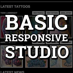 TattooNOW Basic Studio Website