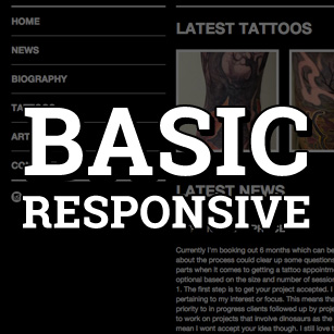 TattooNOW Basic Website