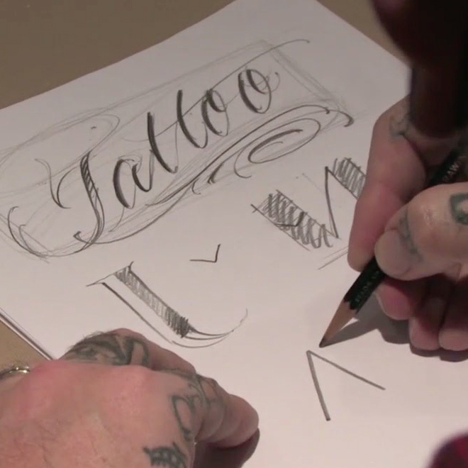 BJ Betts lettering webinar