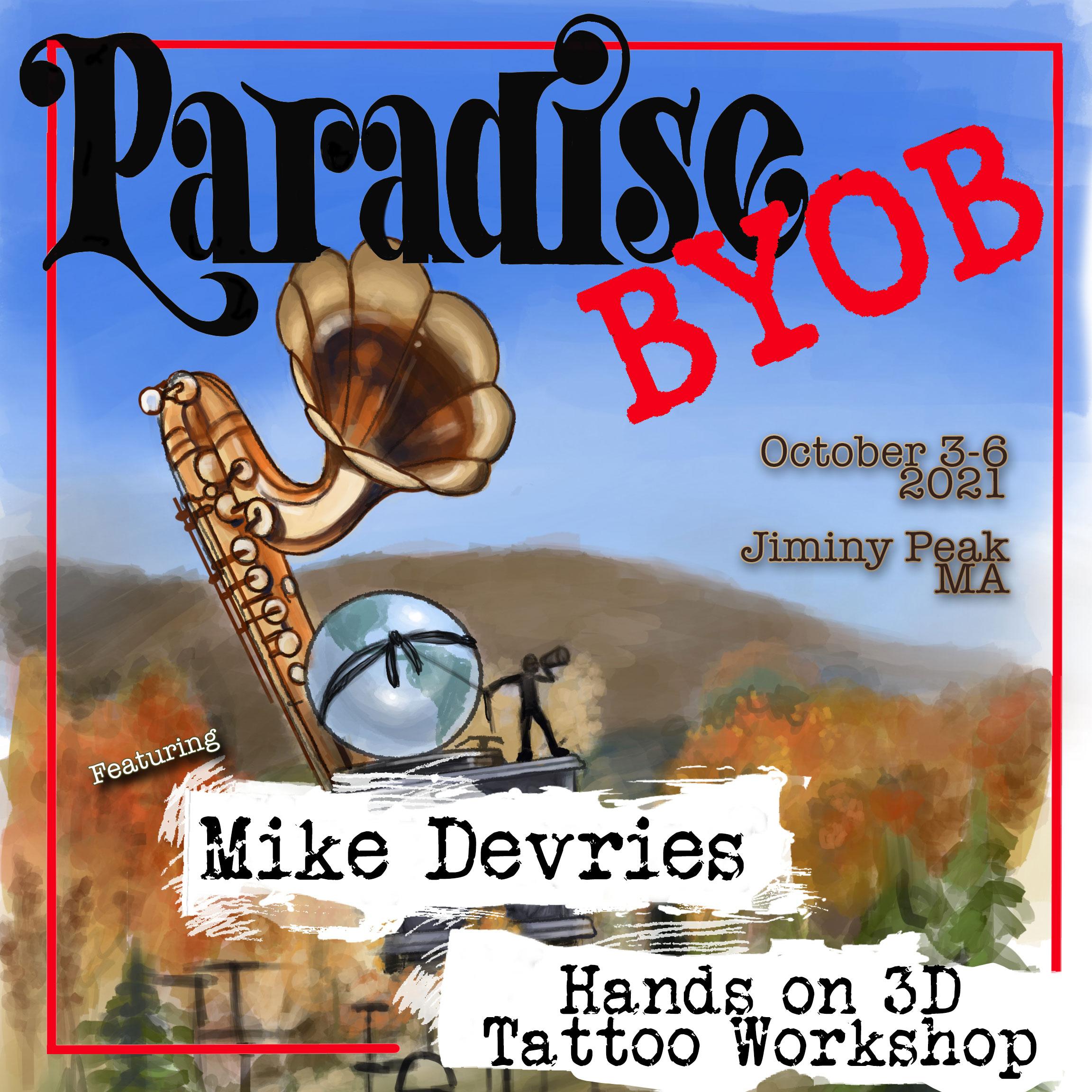 Hands on 3D Tattoo Workshop by Mike DeVries DEPOSI