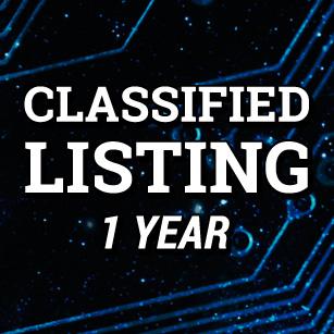 TattooNOW Classified Listing 1 year