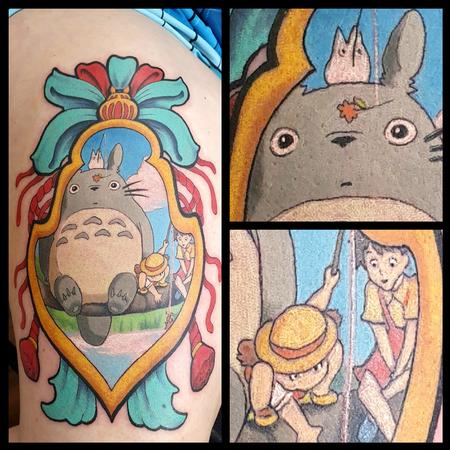 Tattoos - Totoro Japanese Tag - 141965