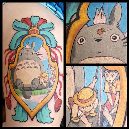 George Scharfenberg  - Totoro Japanese Tag
