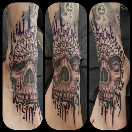 Tattoos - Skull mandala - 133706
