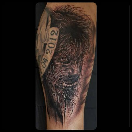 Tattoos - Wolfman - 134988