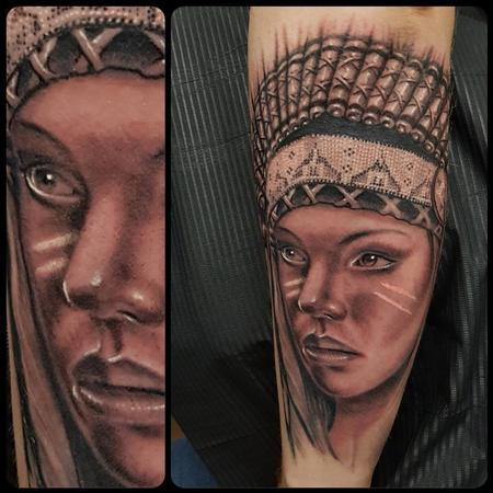 Tattoos - Native American - 136173