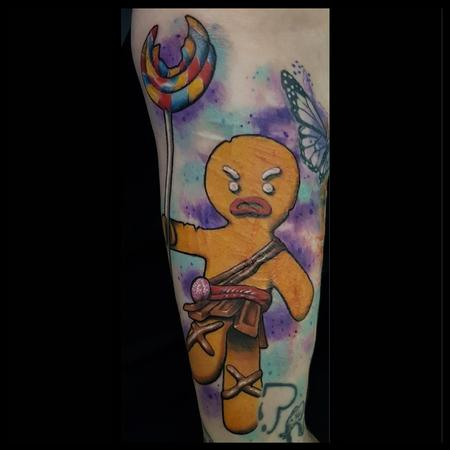 Tattoos - Gingy from Shrek - 139325