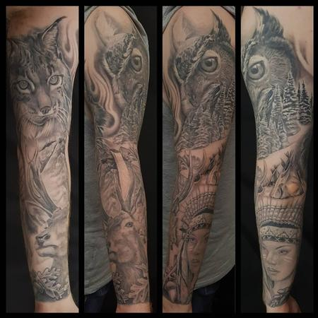 Tattoos - North American Sleeve - 139328