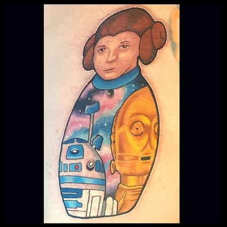 Tattoos - Star Wars russian doll - 139540