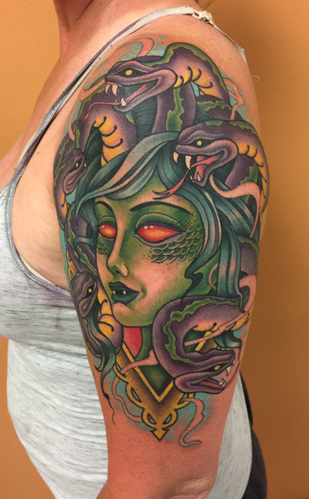 Tattoos - Medusa - 139854