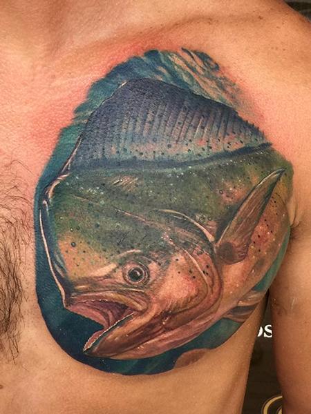 Tattoos - Mahi-mahi - 117063