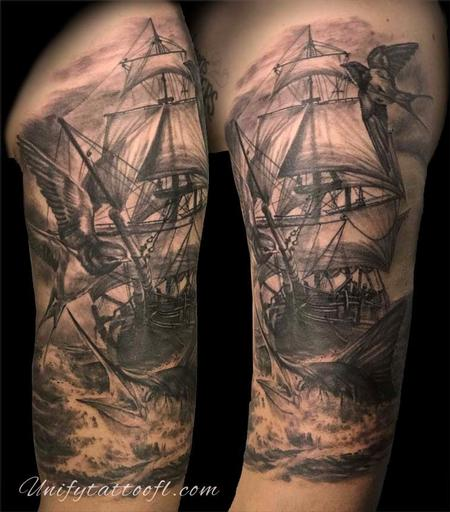 Bart Andrews - Nautical Tattoo
