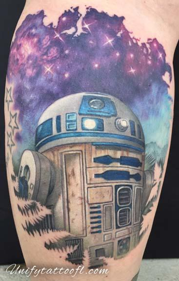 Pepper - R2-D2