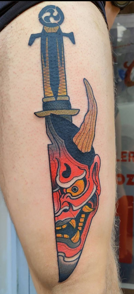 Drew Potts - Oni Dagger