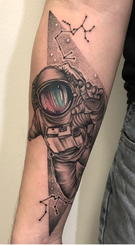 Tattoos - Spaceman Tattoo - 138800