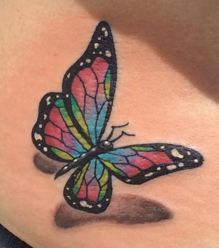 Tattoos - Butterfly - 125367